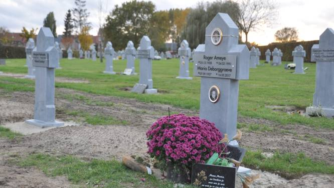 """""""Ik vond hun graf niet meer. Ik ben in tranen uitgebarsten"""": grafzerk van Heidi's ouders plots vervangen door anonieme steen"""
