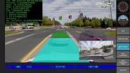 Video's onthullen hoe zelfrijdende auto wereld 'ziet'