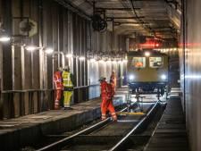 Klus in Willemsspoortunnel is geklaard: sporen  kunnen weer tot 2023 mee