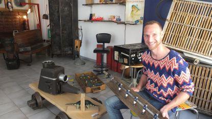 Schrijnwerker Steven geeft oude materialen tweede leven in pop-upwinkel SThout