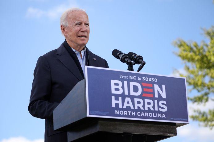 De Democratische presidentskandidaat Joe Biden.