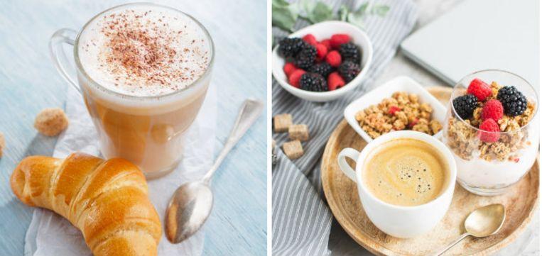 Door in plaats van een latte voor een gewone koffie of een macchiato te kiezen, doe je direct het aantal calorieën drastisch dalen.