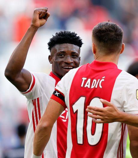 Debutant Kudus al meteen de smaakmaker bij Ajax