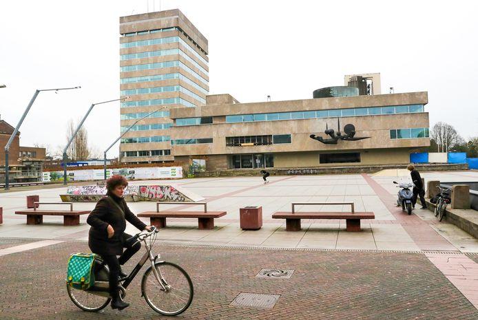 Archieffoto van het Stadhuis op het Stadshuisplein in Eindhoven.