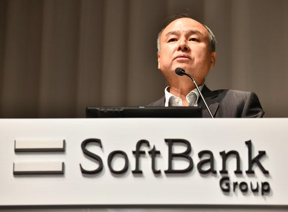 CEO Masayoshi Son van de SoftBank Group.