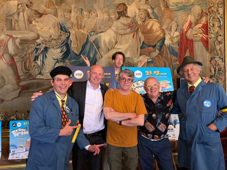 De concierges van de Marollen, Pierre, Frédéric Jannin van de Snuls en Boogie Boy