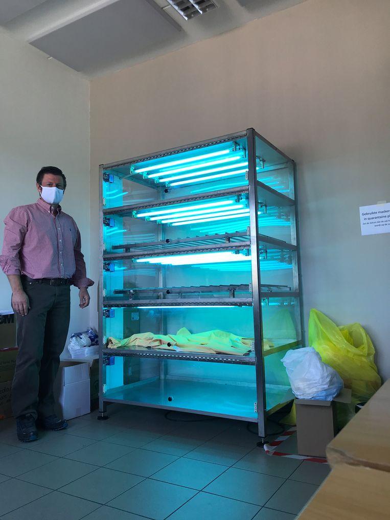 Bacteriële en virale ontsmetting met UVC-licht