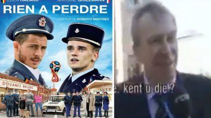 """""""Welk volkslied zingt Yves Leterme?"""" en """"Vanavond decimeren we de Fransen!"""" Twitter maakt zich op voor burenstrijd"""