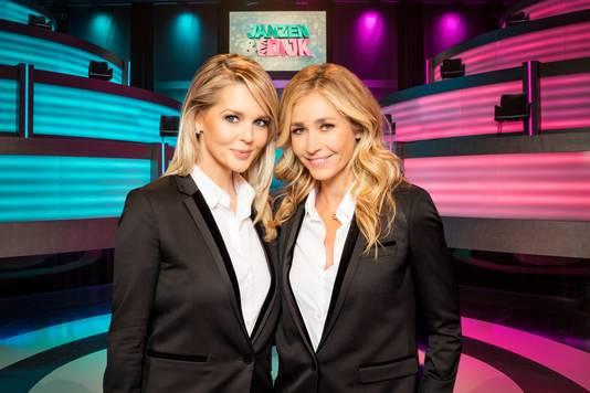 In 2017 was er nog geen vuiltje aan de lucht toen Chantal Janzen en Wendy van Dijk samen het programma Janzen & van Dijk presenteerden.