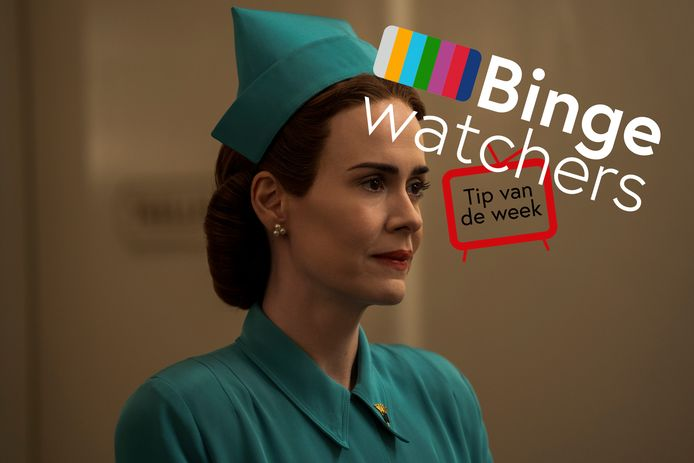 Sarah Paulson als Mildred Ratched in de Netflix-serie Ratched