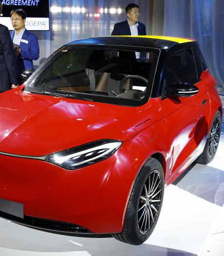 Deze Chinese, elektrische auto gaat over twee jaar in België in productie