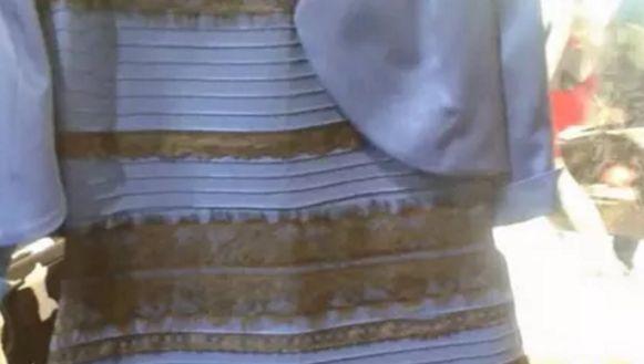 Wit-goud of blauw-zwart? De discussie kan opnieuw losbarsten.