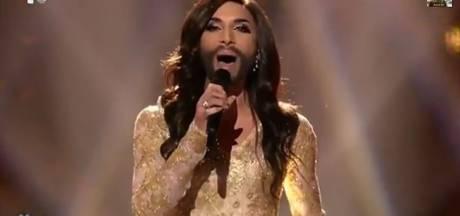 La femme à barbe en finale de l'Eurovision