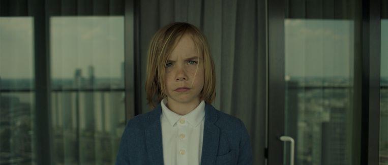 Neathan van der Gronden als het onpeilbare kind Thomas. Beeld