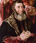 De wrede schout Jan van Drenkwaert legde de familie Smidt op de pijnbank, ook onschuldige kinderen. (deel van een kopie drieluik in de Augustijnenkerk).