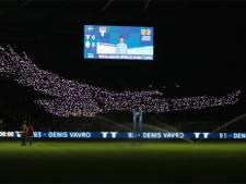 Une idée lumineuse et des centaines de smartphones: le sublime tifo de la Lazio