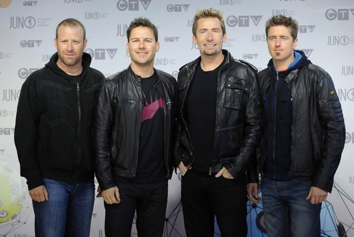 Le groupe de rock canadien Nickelback.