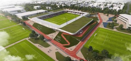 Het wordt passen en meten voor Helmond Sport in het nieuwe stadion
