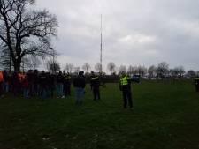 Woede over ontmanteling zendmast bij Staphorst: mobiele eenheid grijpt in