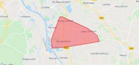 Stroomstoring treft Laag Zuthem, Lierderholthuis, Wijhe en deel Zwolle
