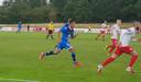 Mauro Júnior in actie in de oefenwedstrijd tegen Viktoria Köln.