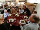 Dineren bij een knappend haardvuurtje in Bosschenhoofd