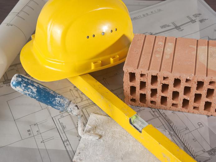 illustratie bouw nieuwbouw