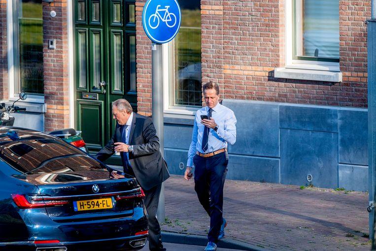 Minister Hugo de Jonge van Volksgezondheid, Welzijn en Sport heeft een corona-app laten bouwen die het werk van de GGD's moet verlichten. Beeld Hollandse Hoogte / Robin Utrecht