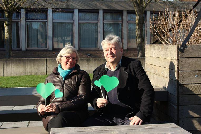 De ervaren Lut De Jaeger (70) en Jan Van Streydonck (64) duwen de lijst van Groen.