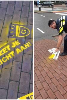 Politie tagt erop los in de regio: 'Zet je licht aan!'