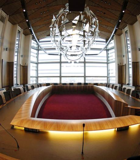 Alleen fractievoorzitters komen samen tijdens de raadsvergadering in Vlissingen