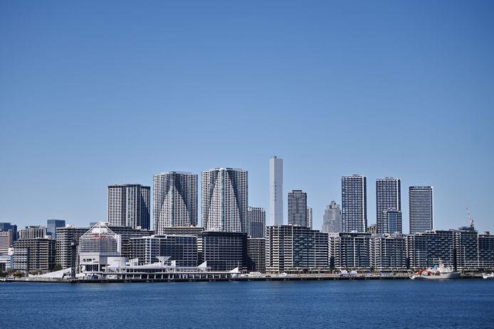 Het olympisch dorp in Tokio