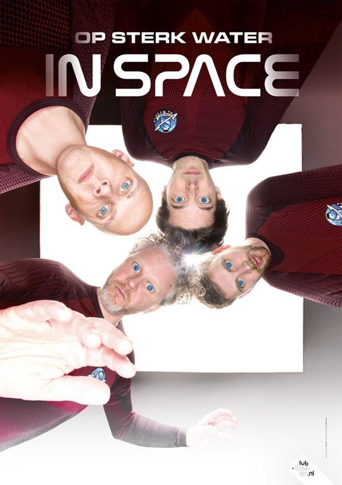 Cabaretgroep Op Sterk Water met show In Space