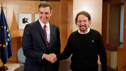"Spaanse socialisten en uiterst links akkoord om ""regering van samenwerking"" te vormen"