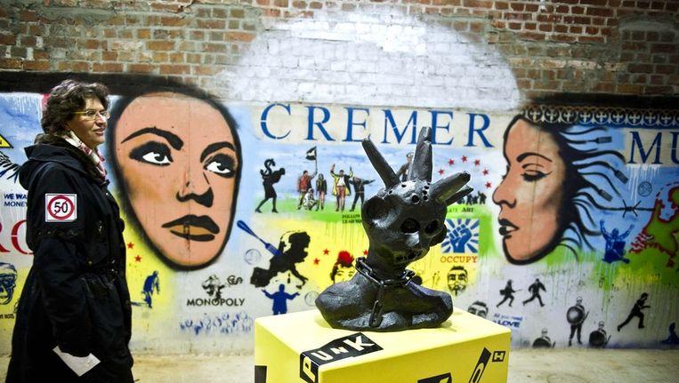 Het tijdelijke Jan Cremer-museum Beeld ANP