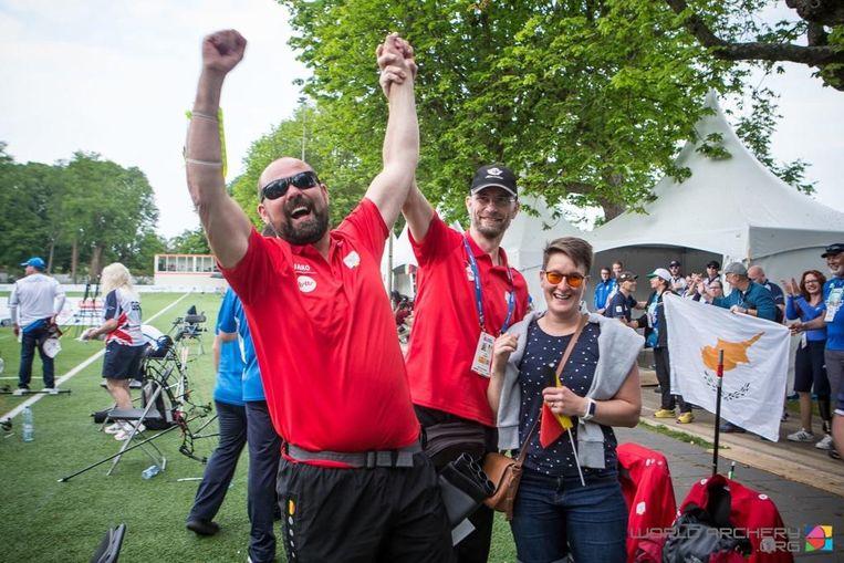 Ruben Vanhollebeke pakt goud op WK voor blinden
