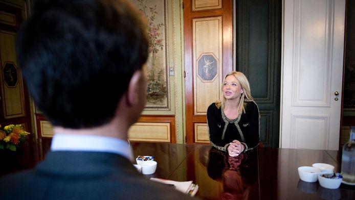 Premier Mark Rutte, hier met Jeanine Hennis-Plasschaert
