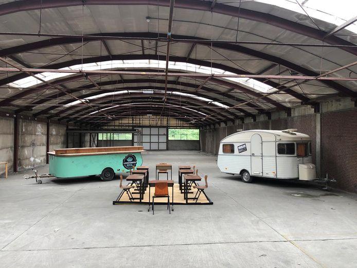 In Oosterhout gaan twee KVL-caravans een nieuwe toekomst tegemoet