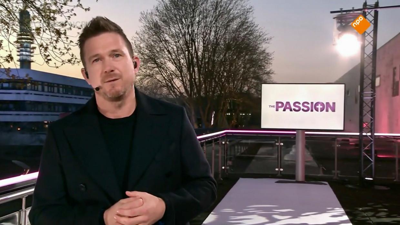 Johnny de Mol, presentator van de 2020-versie van The Passion Beeld