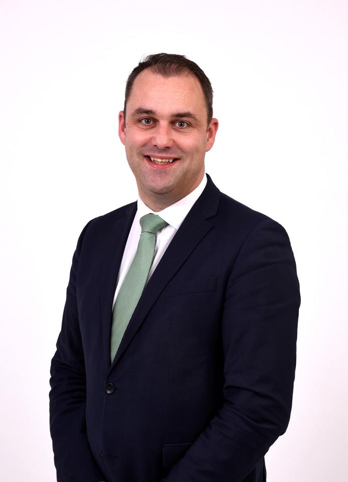 """Wethouder Johan Aalberts van Middelburg.  ,,Op advies van de Provincie verhogen we de OZB extra."""""""