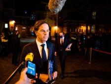 Rutte: 'Bijna eens over reactie toeslagrapport, niet gesproken over politieke consequenties'