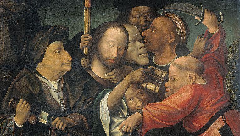 'Christus wordt gevangen genomen' Beeld Jheronimus Bosch