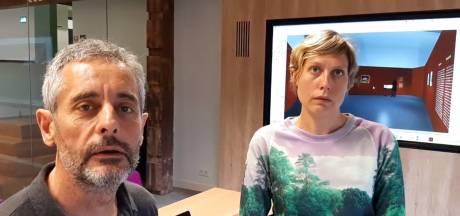 Video's rond opbouw bijzondere expo Van Gogh