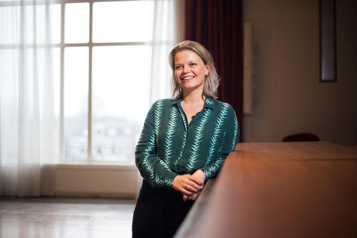 """Marinka Mulder.  ,,Zo'n nominatie zegt wel iets over hoe mensen mij zien als wethouder."""""""