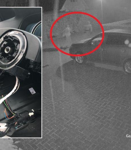 Autosleutel in de slaapkamer: dieven roven talloze onderdelen uit BMW