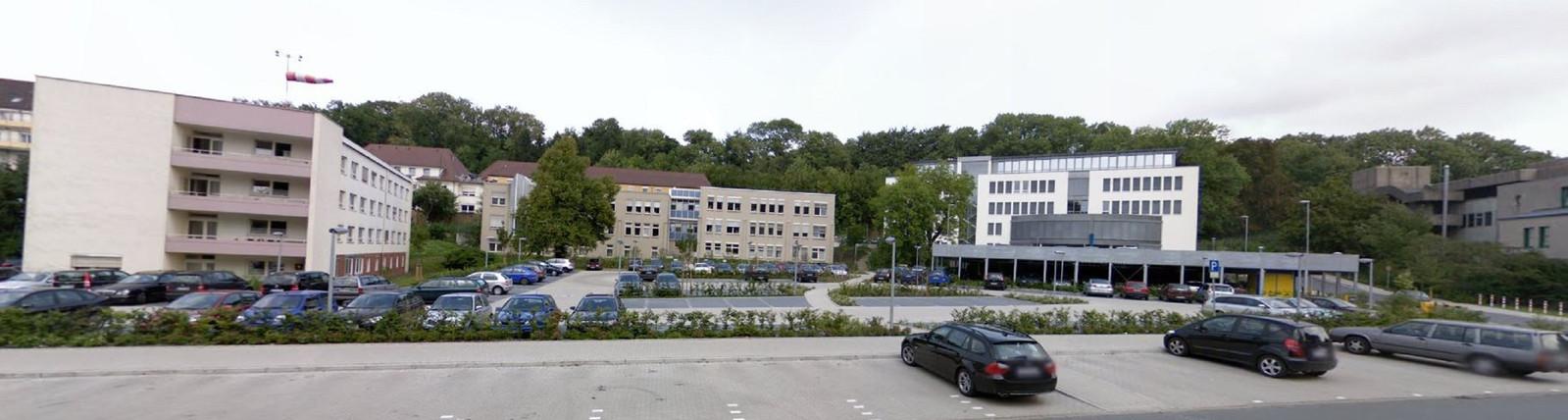 Een deel van het Evangelisches Klinikum Bethel in Bielefeld.