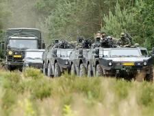 Militairen trainen een week lang in de gemeente Lochem