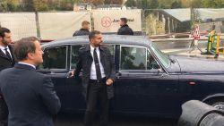 Auto van Koning Filip wil niet meer starten