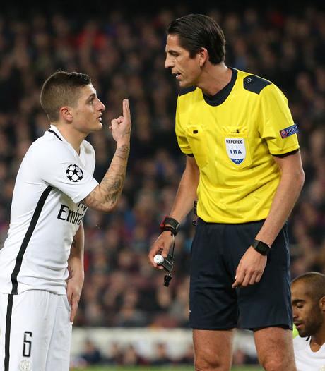 UEFA steunt arbiter van CL-duel in Barcelona