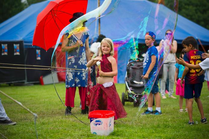 Jong en oud was aanwezig op de derde editie van het festival.